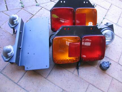 HINO TAIL LIGHTS, NUMBER PLATE LIGHTS & REVERSE LIGHT