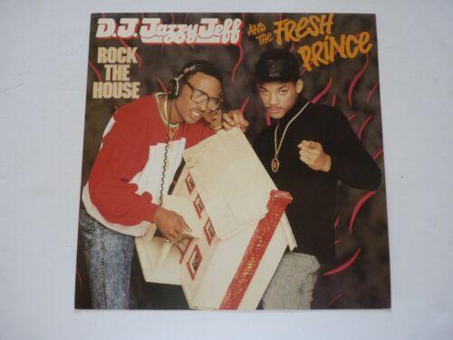 Will Smith DJ Jazzy Jeff Fresh Prince Rock LP Record Photo Flat 12x12 Poster
