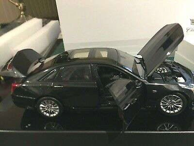 1/18 2019 CADILLAC CT6 SEDAN CAR MODEL - BLACK (GRAY ASH) -DEALER EDITION - NEW!