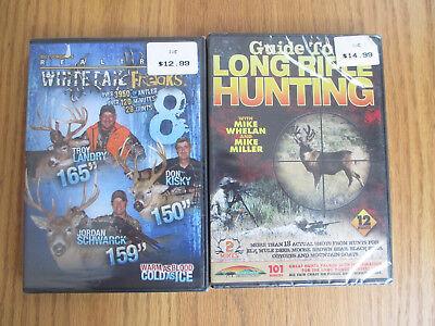 PRIME TIME BUCKS 16 + GUIDE TO LONG RIFLE HUNTING - DEER HUNTING - DVD 2 PACK