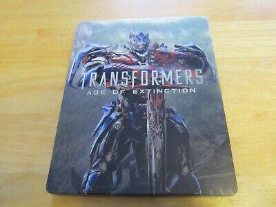Transformers Age Of Extinction Steelbook DVD + Blu ray