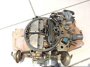 Rebuilt quadrajet carburetor
