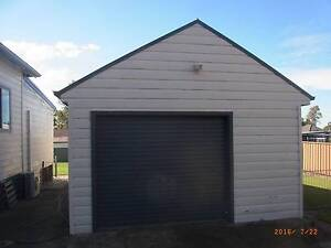 Large single garage with attached room with sliding door East Maitland Maitland Area Preview