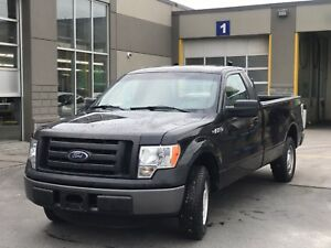 2011 Ford F-150 XL V6 -- CERTIFIED -- BLACK-- 8 FT BOX