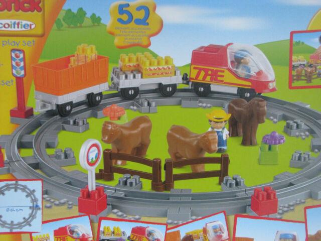 Zug Eisenbahn Landzug Spielset Ecoiffier Abrick Spielzeug Train NEU/OVP