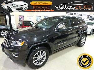 2014 Jeep Grand Cherokee Limited LIMITED| 4X4| SUNROOF| LEATH...