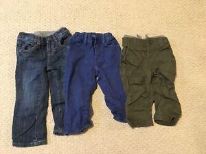 Gap &  Zara baby boy jeans/pants