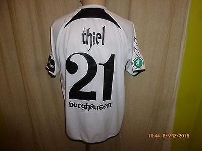 Wacker Burghausen hummel Heim Matchworn Trikot 2011/12 + Nr.21 Thiel Gr.L image