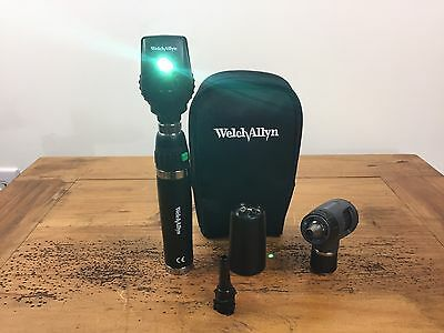 Welch Allyn 3.5v Diagnostic Set Lithium Handle Macroview 23820 Ophthalmoscope