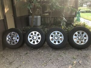 GMC 8 bolt rims and tires