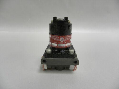 UNUSED General Controls Cat. No. PV1C1167 Electric Solenoid Shut Off Valve (A12)