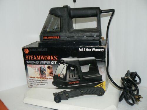 Black & Decker Steamworks Wallpaper Steamer Stripper Model 1200 with Box & Tool