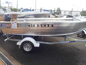 New Quintrex 420 Busta **ELECTRIC START** Noosaville Noosa Area Preview