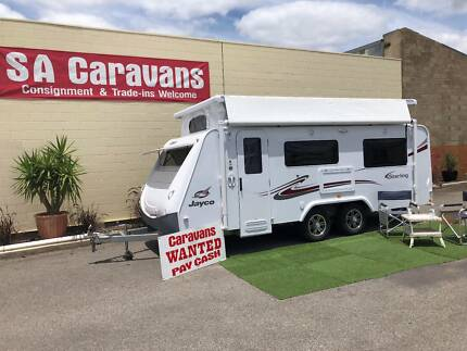 2011 Jayco Sterling Pop Top Caravan with Air Conditioning