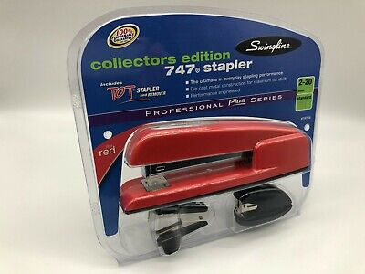 Office Space Stapler Swingline Rio Red Collectors Edition 747