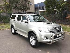 2014 Toyota Hilux Ute Oyster Bay Sutherland Area Preview