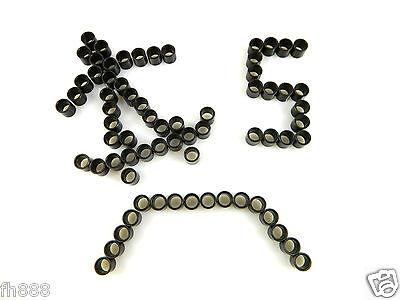 5 Sets (20 pc) Longboard Skateboard Bearing Spacers 8mm x 10mm