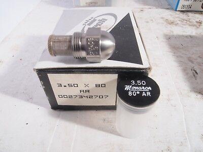 Monarch Oil Burner Nozzle 3.50 X 80 Ar Special Solid Cone New Nos Fuel Furnace