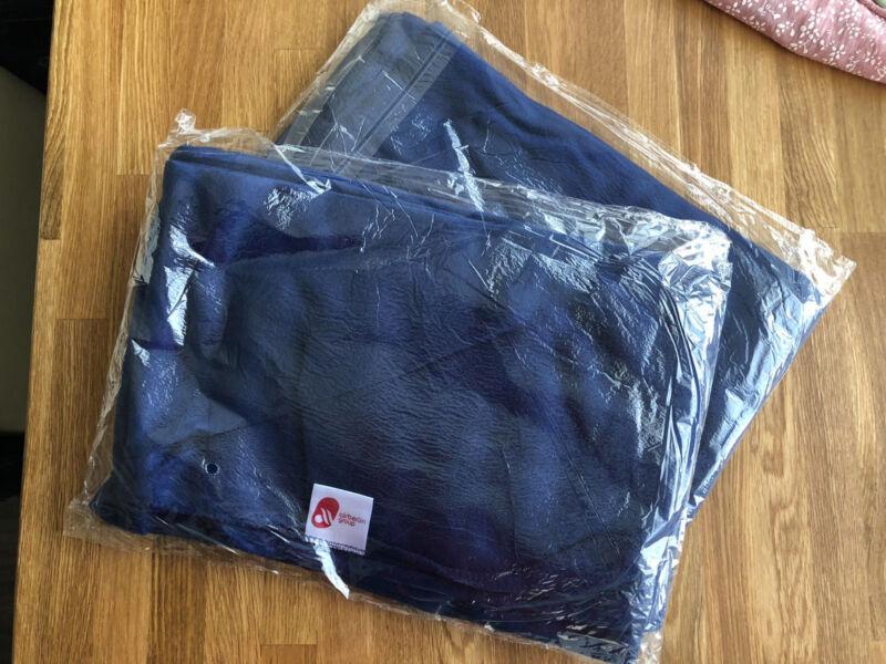 20X AIR BERLIN Decke Fleecedecke blau Sammlerstück Rarität  OVP Neu