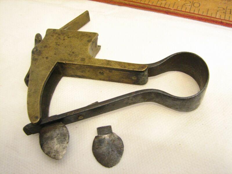 Antique Fleam Surgeon Tool Bleeder Quack Medicine Blood Letter Scarificator