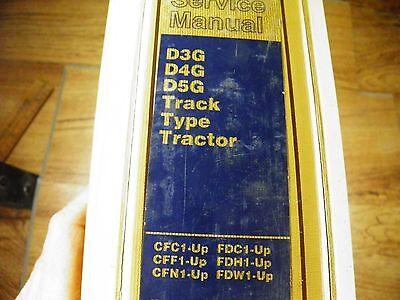 Cat Caterpillar D3g D4g D5g Service Manual  Cfc Cff Cfm Fdc Fdh Fdw