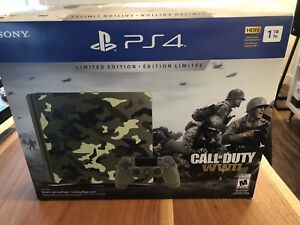PS4 - limited Edition COD camo 1tb