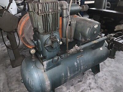 1964 Quincy 350 Air Compressor 10 Hp 3-phase 120 Gallon Tank