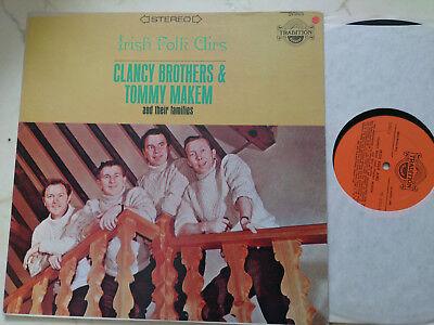 CLANCY BROTHERS & TOMMY MAKEM Irish Folk Airs *US TRADITION 60s VINYL LP*