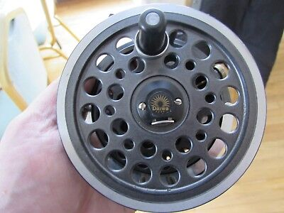 a34779014ac V good vintage youngs daiwa 813 1540 expert salmon fly fishing reel 4.25
