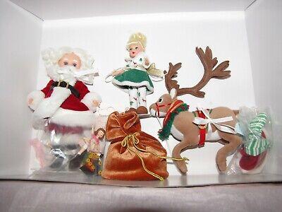 Very Very Rare Madame Alexander Santa's World Doll Set