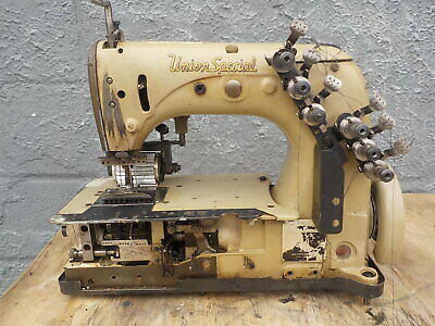 Industrial Sewing Machine Union Special 54-200 J-with Rear Puller- Brown