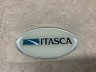 DOMED ITASCA OVAL DECAL - WINNEBAGO ITASCA