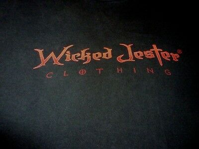 Wicked Jester Shirt ( Used Size L ) Good - Wicked Jester