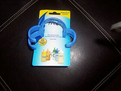 Born Free sippy cup replacement handles new blue
