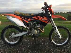 KTM 250 SX-F 2013 Exc Cond 4 Stroke Moto-X with Rec Reg & E/Start Jindivick Baw Baw Area Preview