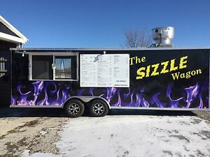 28 Ft Turn Key Food Trailer