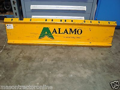 Alamo Terrain King Front Panel Guard Weldment Flail Axe Part 02960347 New Oem