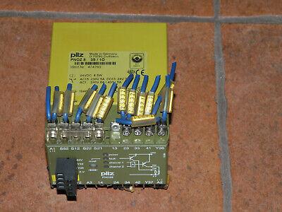 1 Pilz Pnoz8 Safety Relay 474760 24vdc 45w