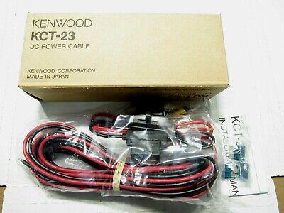 Qty 6 Lot 6x New Kenwood Kct-23 Dc Power Cable Ham Radio 17 Oem Nib Nos