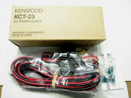 Qty 6 lot 6x NEW Kenwood KCT-23 DC Power Cable Ham Radio 17