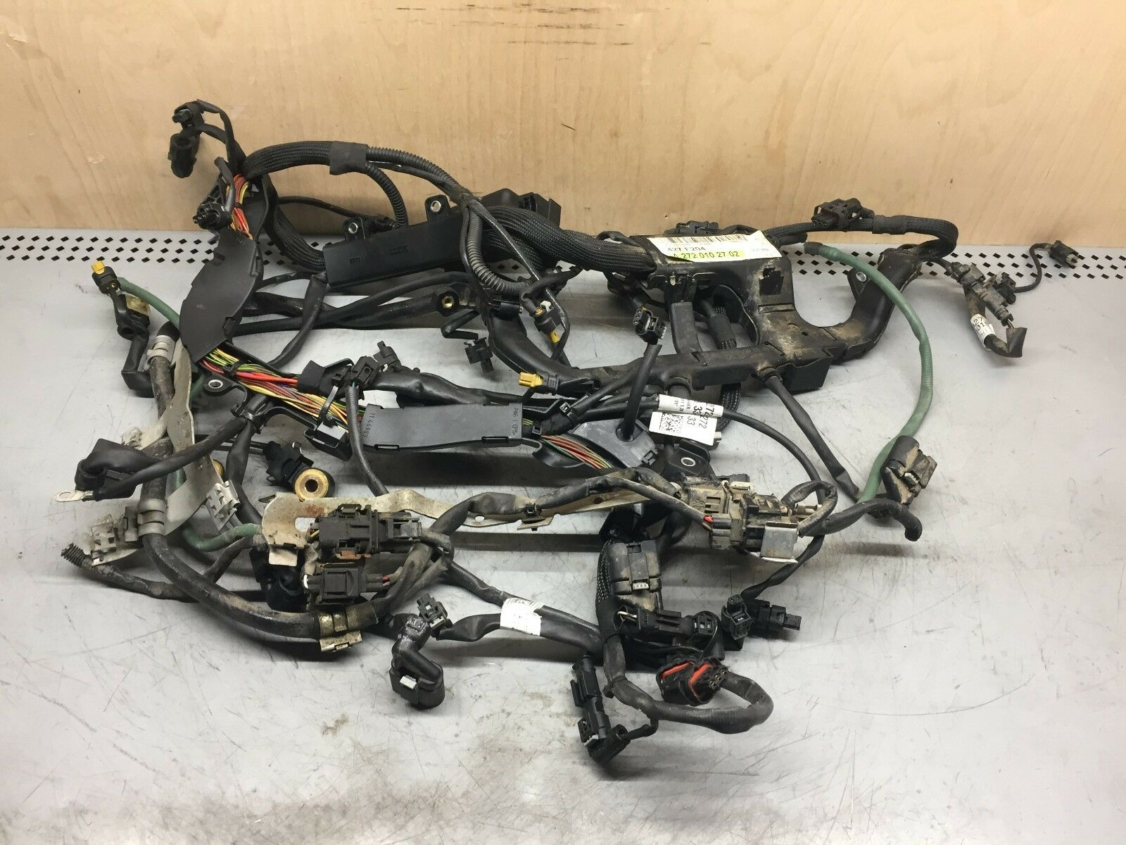 Used Mercedes Benz 300 Engines And Components For Sale C180 Wiring Harness 2009 C Class C300 W204 Rwd Engine 2720102702 Oem 27k