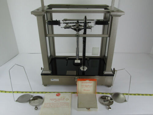 Antique WM Ainsworth & Sons Type BB Chainweight Analytical Balance Scale 40515