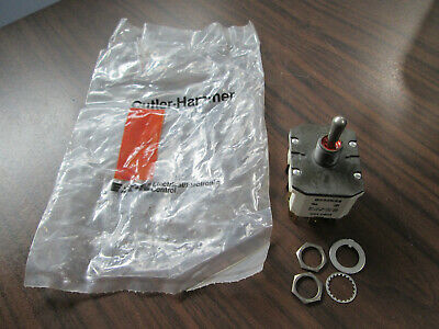 New Cutler Hammer Eaton 8532k33 Sealed Toggle Switch