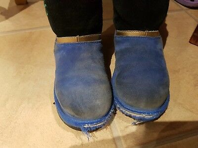Girls Frozen Anna UGG Boots Limited Edition Size 12uk for sale  Leicester