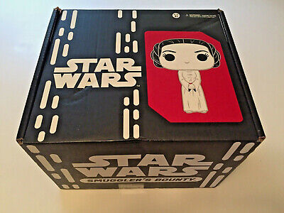STAR WARS SMUGGLER'S BOUNTY 40TH ANNIVERSARY FUNKO POP COMPLETE BOX LUKE SPEEDER