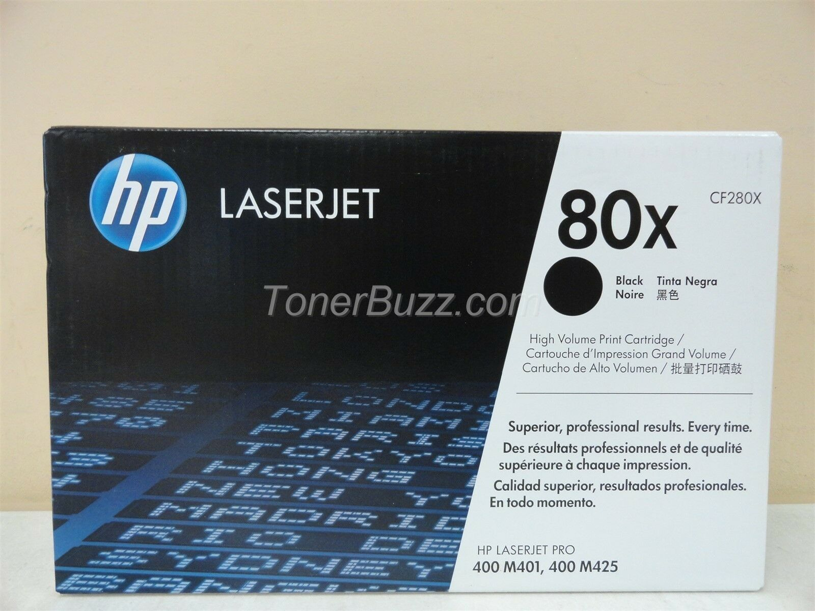 Genuine HP CF280X High Yield Black Toner LaserJet Pro M401 M425 NIB Sealed OEM