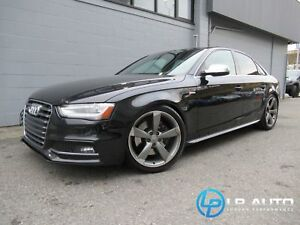 2013 Audi S4 3.0T Premium! Loaded! Easy Approvals!
