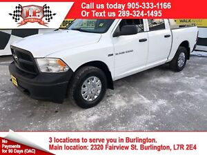 2012 Ram 1500 ST, Crew Cab, Automatic, Power Group, 4x4