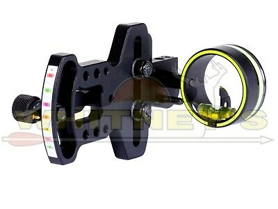 HHA Archery Optimizer Lite OL-3019 Left Hand Single Pin Compound Bow Sight  ()