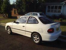 1996 Hyundai Excel III sedan Cardiff Lake Macquarie Area Preview